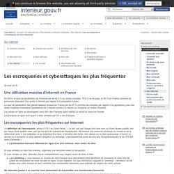 Les escroqueries et cyberattaques les plus fréquentes / Sur internet / Conseils pratiques / Ma sécurité / A votre service
