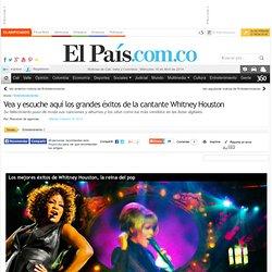 Vea y escuche aquí los grandes éxitos de la cantante Whitney Houston