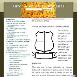MI escudo de armas - Tutoría en el IES Rodanas