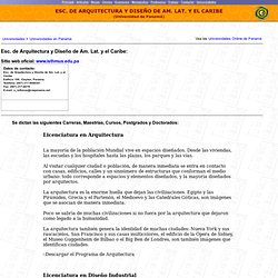 Escuela de Arquitectura y Diseño de América Latina y el Caribe (Panamá)