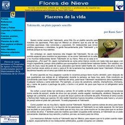 Flores de Nieve, Escuela de Enseñanza para Extranjeros UNAM