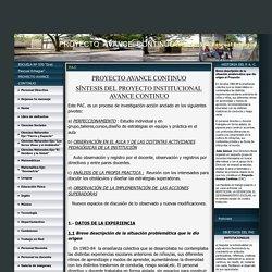 Escuela Nº 570 Pascual Echagüe - P.A.C