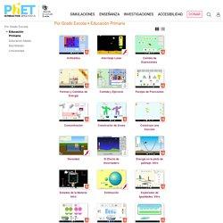Escuela primaria - Simulaciones PhET