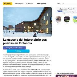 Laescuela del futuro abrió sus puertas enFinlandia