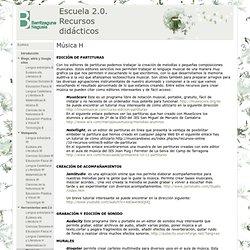 Música H - Escuela 2.0. Recursos didácticos