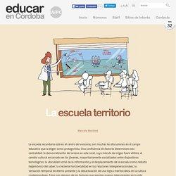 La escuela territorio - Por Marcela Martínez