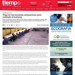 Yoga en las escuelas sanjuaninas para combatir el bullying