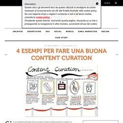 4 esempi per fare una buona Content Curation