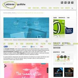 20 esempi di uso creativo dei filtri per colore nel web design