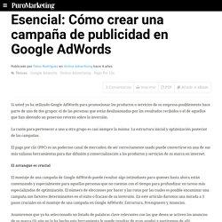 Esencial: Cómo crear una campaña de publicidad en Google AdWords