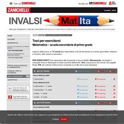Test per esercitarsi « Le prove INVALSI di matematica e italiano