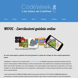 MOOC – Esercitazioni guidate online