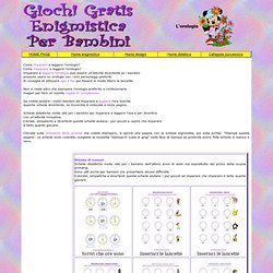 Schede didattiche per la scuola elementare: imparare a leggere l'orologio