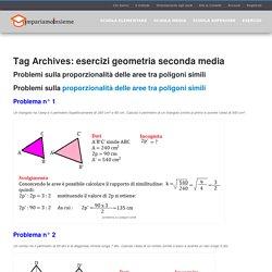 esercizi geometria seconda media Archivi - Impariamo Insieme