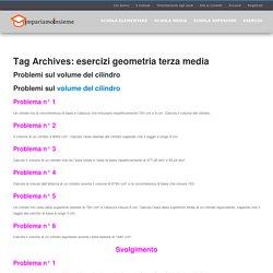 esercizi geometria terza media Archivi - Impariamo Insieme