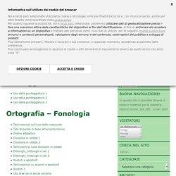Esercizi online di Italiano - Grammatica