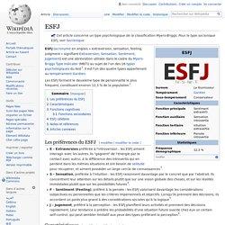 ESFJ (fournisseur)