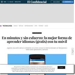En minutos y sin esfuerzo: la mejor forma de aprender idiomas (gratis) con tu móvil. Noticias de Tecnología