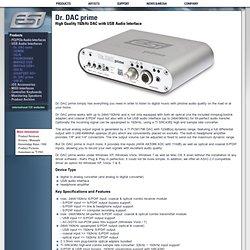 ESI - Dr. DAC prime