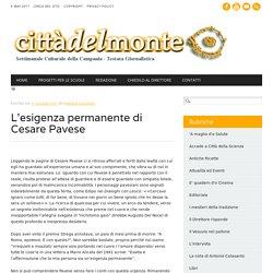L'esigenza permanente di Cesare Pavese