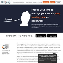 eSignature Solutions For Financial Services - eSignly
