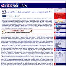 Jak Český rozhlas oblbuje posluchače - ale už to zřejmě nemá vliv