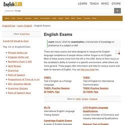 ESL Exams
