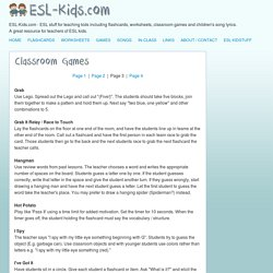 ESL Games for young learners