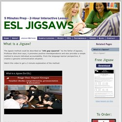 What Is A Jigsaw?