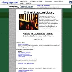 ESL Online Literature Library