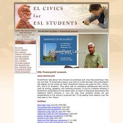 ESL Powerpoint Lessons