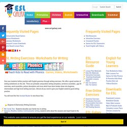 ESL Teaching Materials for Writing