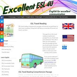 ESL Travel Reading