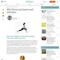 ESL Warm-up Games and Activities