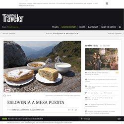 Eslovenia a mesa puesta