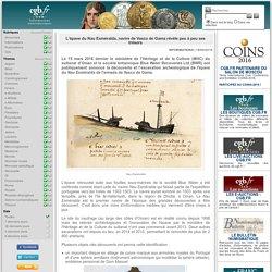 L'épave du Nau Esméralda, navire de Vasco de Gama révèle peu à peu ses trésors