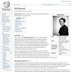 Jill Esmond