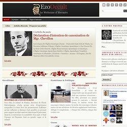 EzoOccult le webzine de l'ESOTERISME et de l'OCCULTISME