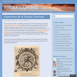 Esoterismo de la Familia Charitatis