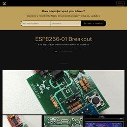 ESP8266-01 Breakout