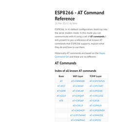 ESP8266 - AT Command Reference · room-15