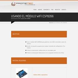 Usando el módulo WIFI ESP8266