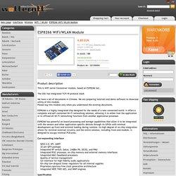 ESP8266 WiFi/WLAN Module