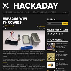 ESP8266 WiFi Throwies