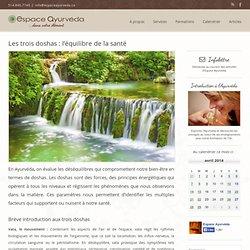 Espace Ayurvéda – Les trois doshas: l'équilibre de la santé