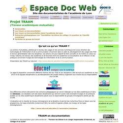 - Espace Doc Web - Académie de Lyon- TRAAM
