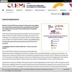 Espace Enseignants- CLEMI