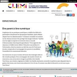 Espace familles- CLEMI