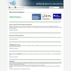 Espace pédagogique - EMI continuité pédagogique