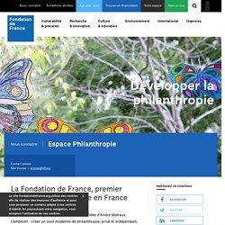 Espace Philanthropie